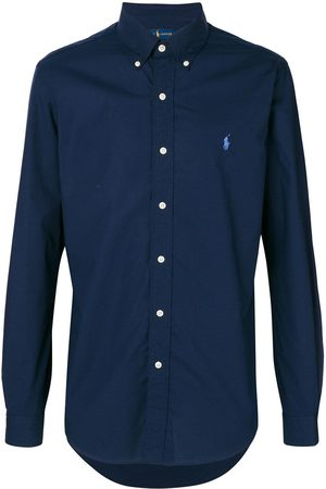 Polo Ralph Lauren Embroidered-logo button-down shirt
