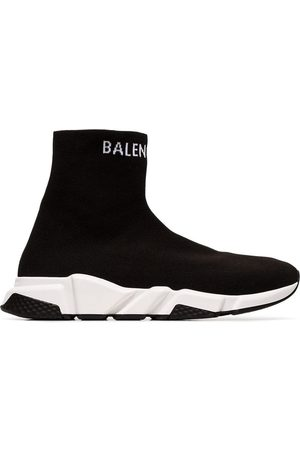 Balenciaga Men Sneakers - And white Speed high-top sneakers