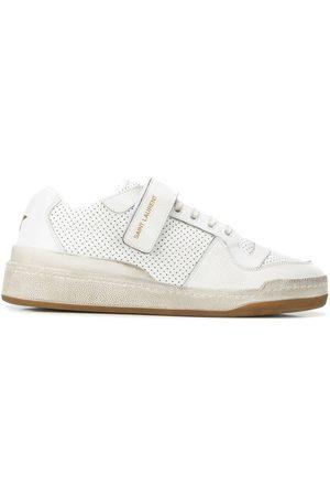 Saint Laurent Women Sneakers - SL24 touch-strap sneakers