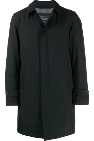 HERNO Single-breasted parka coat