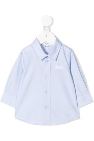 HUGO BOSS Shirts - Embroidered logo shirt