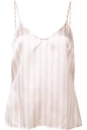 Morgan Lane Mackenzie silk pyjama top