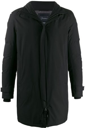 HERNO Stand-up collar coat