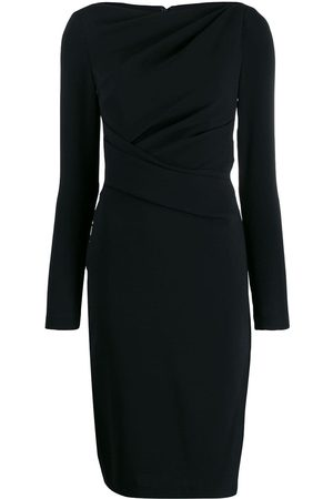 TALBOT RUNHOF Fitted dress