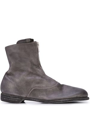 GUIDI Men Ankle Boots - Zipped ankle boots - Grey