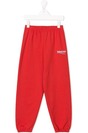 Balenciaga Logo-print track trousers