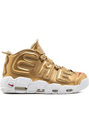 Supreme X Nike Air More Uptempo sneakers - Metallic