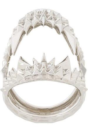 Kasun London Vampire biter ring - Metallic