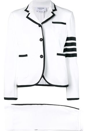 Thom Browne 4-Bar loopback jersey suit
