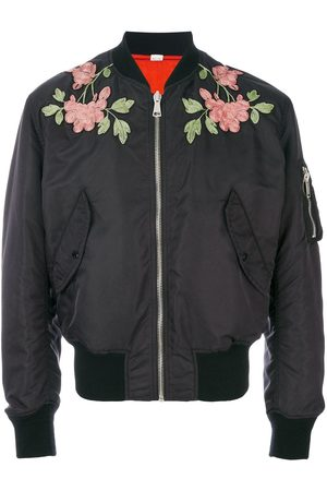 Gucci Men Bomber Jackets - Reversible embroidered bomber jacket