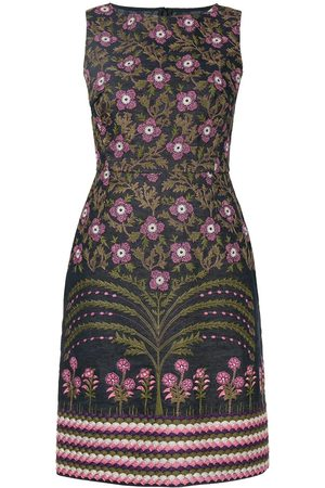 Giambattista Valli Women Printed Dresses - Floral embroidered pencil dress
