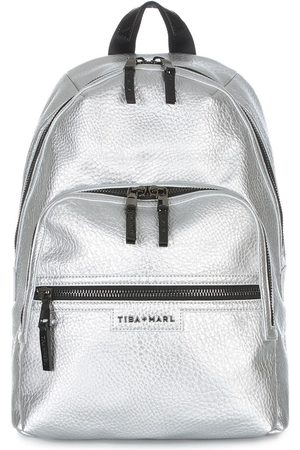 TIBA + MARL Elwood changing backpack - Metallic