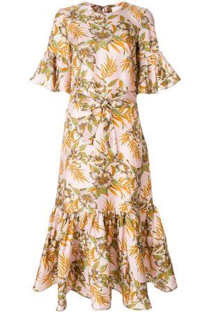 La DoubleJ Women Casual Dresses - Curly Swing Polinesia dress