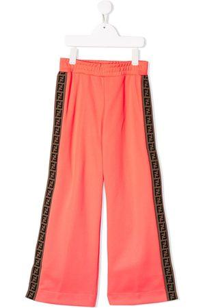 Fendi Girls Sweatpants - Logo track pants
