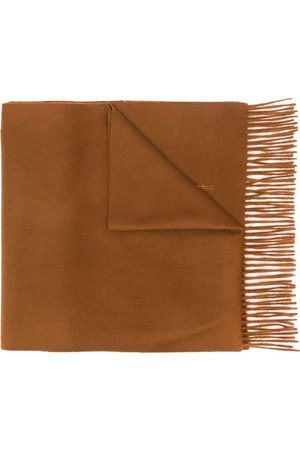 MACKINTOSH Scarves - Bronze Cashmere Embroidered Scarf | ACC-013/E