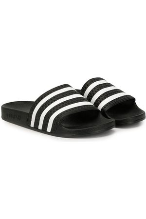 adidas Sandals - TEEN Adilette striped slides