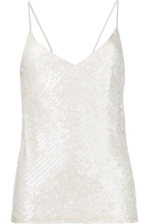 GALVAN Moonlight camisole - Neutrals