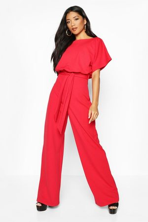 Boohoo Women Jumpsuits - Womens Double Layer Jumpsuit - - 4