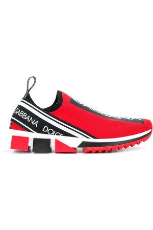 Dolce & Gabbana Men Flat Shoes - Sorrento logo sneakers