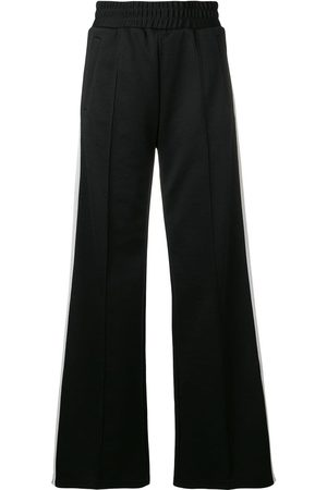 OFF-WHITE Wide leg side stripe track pants