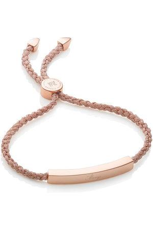 Monica Vinader Women Bracelets - Linear Rose Gold Metallica bracelet