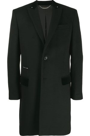 Philipp Plein Flame single-breasted coat