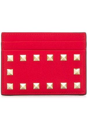 VALENTINO GARAVANI Rockstud leather cardholder