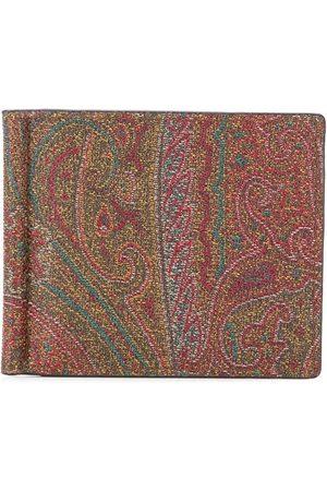 Etro Wallets - Paisley print bifold wallet