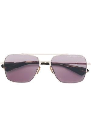DITA EYEWEAR Flight Seven navigator sunglasses - Metallic
