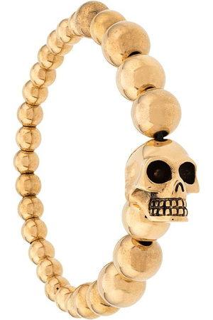 Alexander McQueen Men Bracelets - Skull multibeaded bracelet