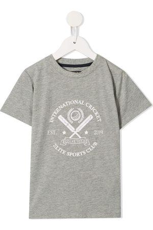Velveteen Girls T-shirts - Tristan Sports Club T-shirt - Grey
