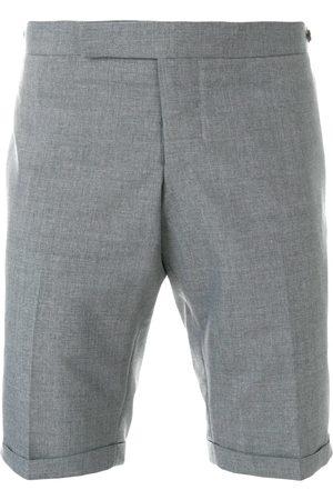 Thom Browne Low Rise Skinny Shorts - Grey