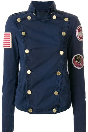 Mr & Mrs Italy Women Jackets - Patched double-breasted fitted jacket