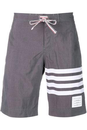 Thom Browne 4-bar Swim Tech Board Short - Grey