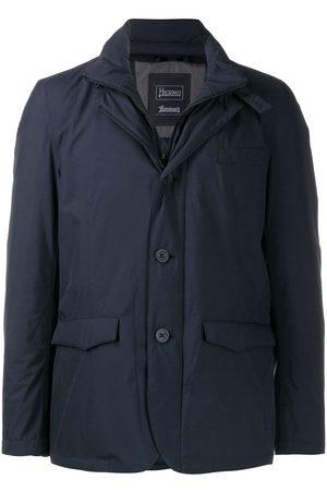 HERNO Layered down jacket
