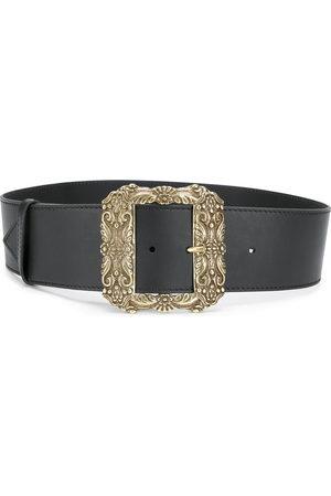 Etro Women Belts - Oversized square buckle belt