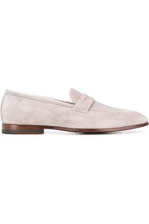 Scarosso Marzio almond toe loafers - Grey