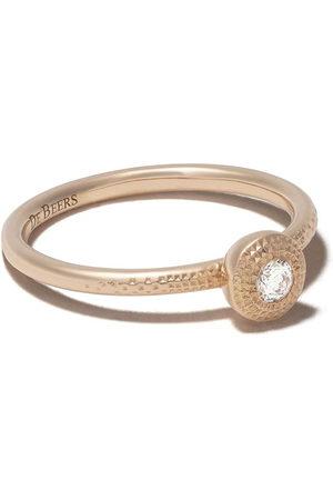 De Beers Jewellers Women Rings - 18kt rose Talisman round brilliant diamond ring