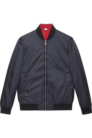 Gucci Men Bomber Jackets - GG pattern reversible bomber