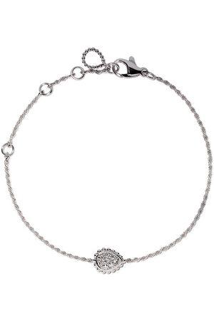 Boucheron 18kt white gold Serpent Bohème diamond XS motif bracelet - WG