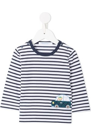 Familiar Car striped T-shirt