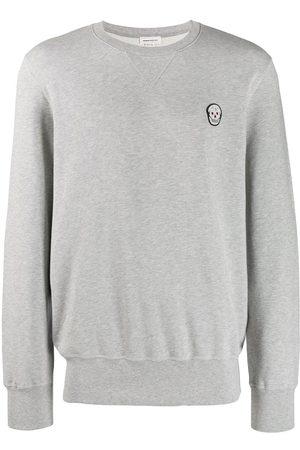 Alexander McQueen Skull patch sweatshirt - Grey