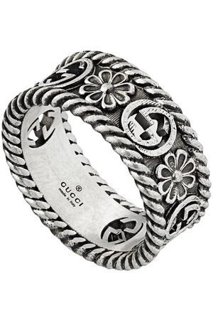 Gucci Women Rings - GG motif cut-out ring