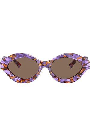 Alain Mikli Women Sunglasses - Contrast print sunglasses
