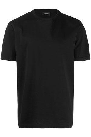 Diesel Men T-shirts - Plain crew neck T-shirt