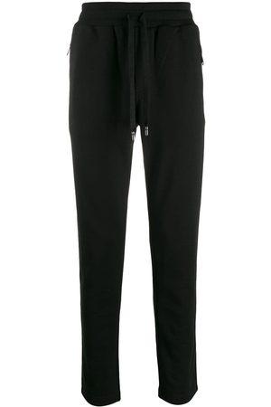 Dolce & Gabbana Logo embroidery track pants