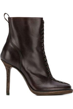 Haider Ackermann Zipped ankle boots
