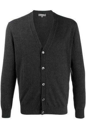 N.PEAL Gents fine-knit cardigan - Grey