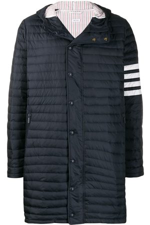 Thom Browne 4-Bar padded coat