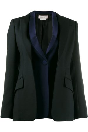 Alexander McQueen Double placket blazer